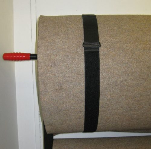 Pair of Mat Ties/Straps for Short Mat and Carpet Bowls Carpets