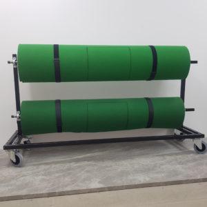 LAYOR Two Mat Windup Storage Handling Unit