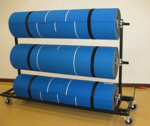 LAYOR Three Mat Windup Storage Handling Unit