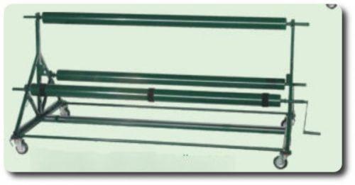 VERDE Roll Up & Handling Unit for 3 Short Mat Carpets