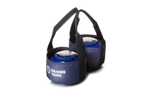 Drakes Pride - Two Wood Carrier - Blue