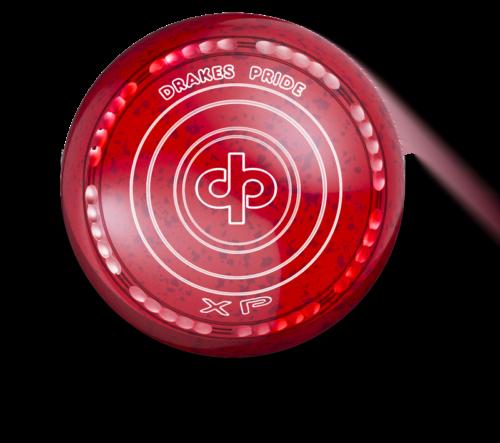 Drakes Pride XP Bowl - Red / Maroon - 40 Dimple Grip