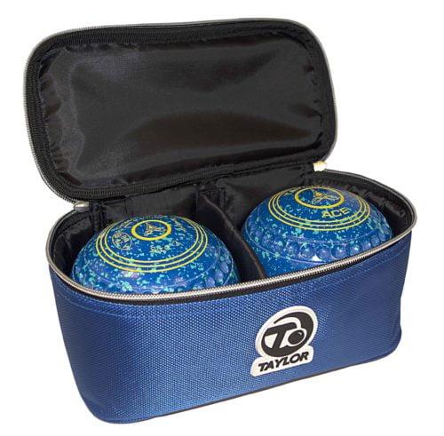 Taylor Two Bowl Case - Blue