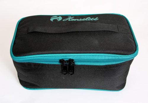 Henselite Two Bowl Carrier - Balck Blue
