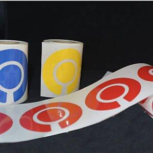 Roll of Bowls Marker Labels