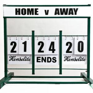 Henselite Mini Scoreboard
