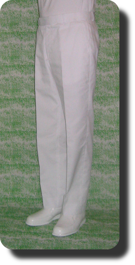 Royal Bowls Trousers - White