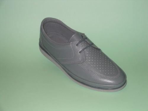 Royal Larne Grey Ladies Bowls Shoe
